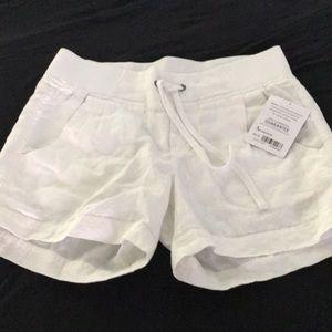 NWT Athleta linen shorts